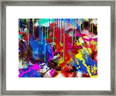 Abstract 6832 Framed Print
