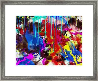 Abstract 6832 Framed Print by Sir Josef - Social Critic -  Maha Art
