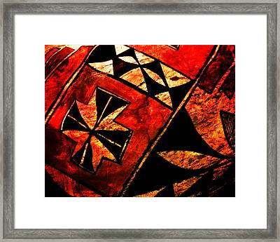 Abstract 68a Framed Print by Timothy Bulone