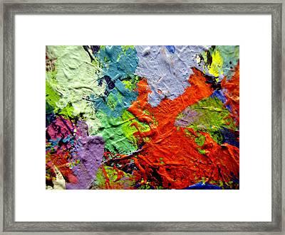 Abstract 7 Framed Print by John  Nolan