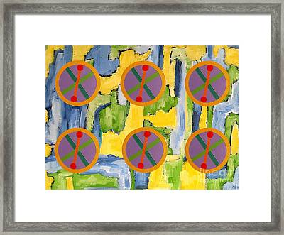 Abstract 82 Framed Print by Patrick J Murphy