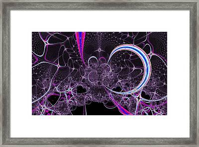 Unyielding Mind Framed Print by Solomon Barroa