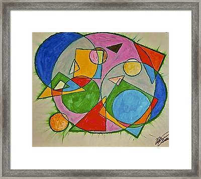 Abstract 89-001 Framed Print