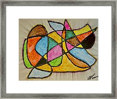 Abstract 89-002 Framed Print