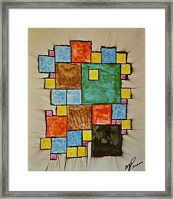 Abstract 89-003 Framed Print