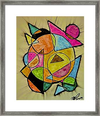 Abstract 89-004 Framed Print