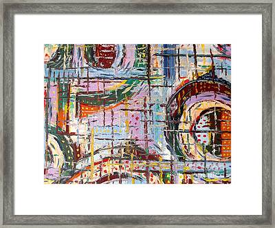 Abstract 9 Framed Print by Patrick J Murphy