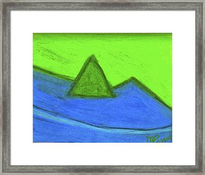 Abstract 92-001 Framed Print