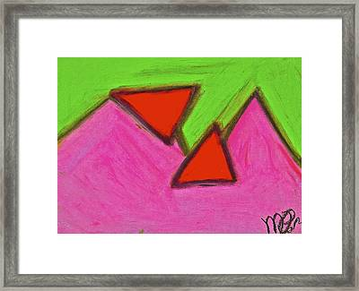 Abstract 92-002 Framed Print