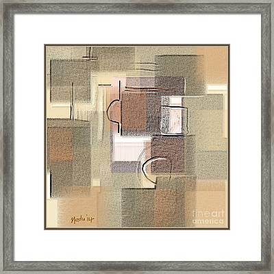 Abstract 949 Framed Print by Nedunseralathan R