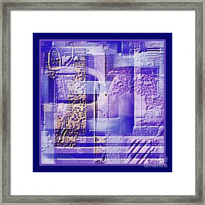 Abstract 950 Framed Print by Nedunseralathan R