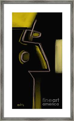 Abstract 964 Framed Print by Nedunseralathan R
