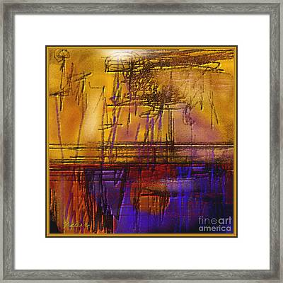 Abstract 970 Framed Print by Nedunseralathan R