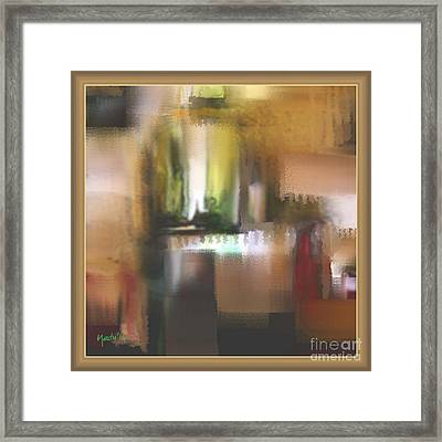 Abstract 972 Framed Print by Nedunseralathan R