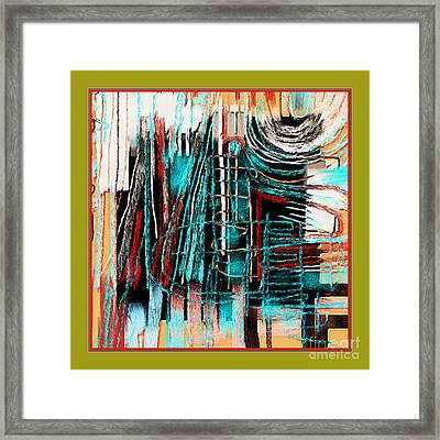 Abstract 974 Framed Print by Nedunseralathan R