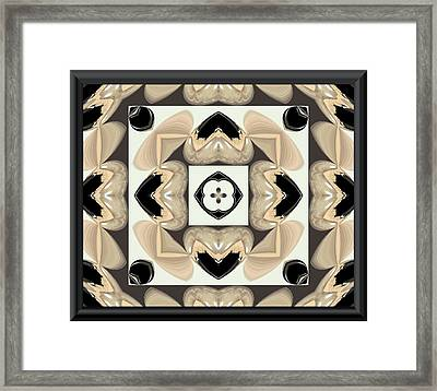 Abstract A029 Framed Print by Maria Urso