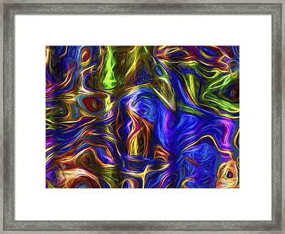Abstract Series A3 Framed Print