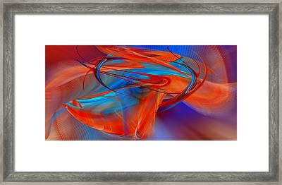 Abstract - Airey Framed Print