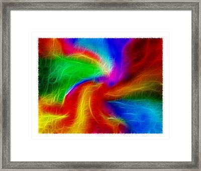 Abstract - Amorphous 1 - Fractal Framed Print by Steve Ohlsen