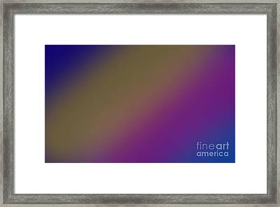 Abstract And Polychromatic Background 2 Framed Print by Enrique Cardenas-elorduy