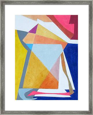 Abstract Angles IIi Framed Print by Diane Fine