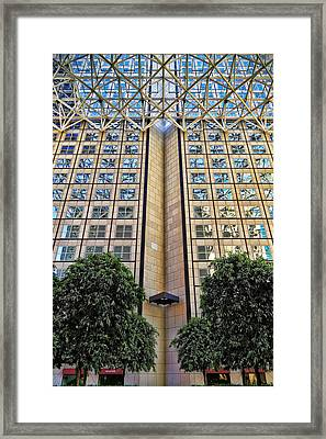 Abstract Architecture Framed Print by Rudy Umans