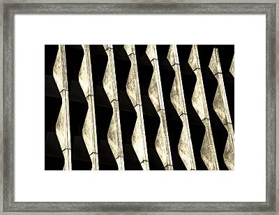 Abstract Architecture Tucson Arizona Framed Print