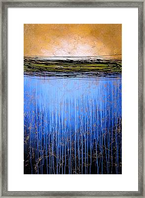 Abstract Art ... It Only Matters #3 Framed Print by Amy Giacomelli