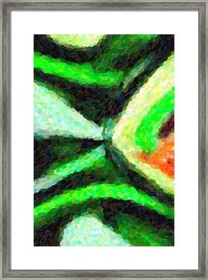 Abstract Art Bottle Framed Print by Tommytechno Sweden