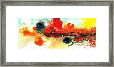 Abstract Art - No Limits - By Sharon Cummings Framed Print by Sharon Cummings