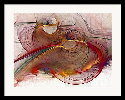 Illustrative Digital Art Framed Prints