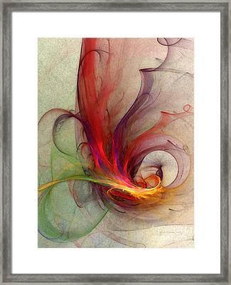 Abstract Art Print Sign Framed Print