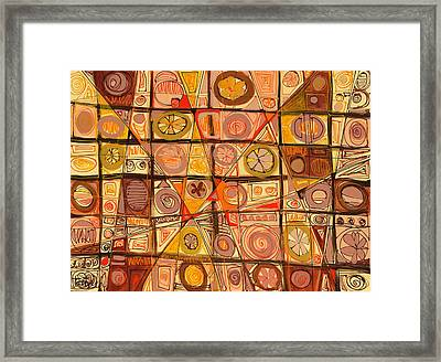 Abstract Art Sixty-five Framed Print