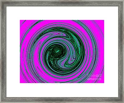 Abstract Art - Spiral Framed Print