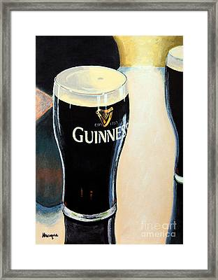 Abstract Arthur Framed Print by Alacoque Doyle