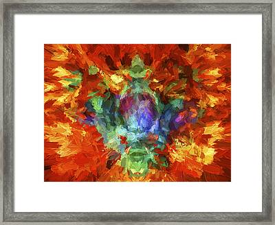 Abstract Series B5 Framed Print