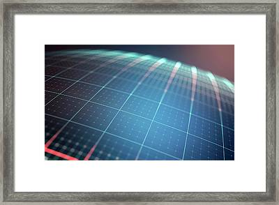 Abstract Background Framed Print by Ktsdesign