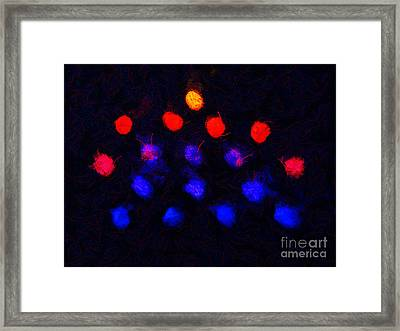 Abstract Balls #2 Framed Print by Pixel Chimp