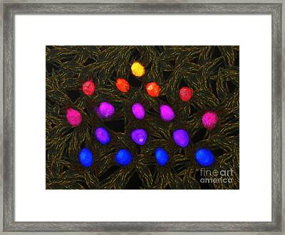 Abstract Balls Framed Print by Pixel Chimp
