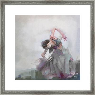 Abstract Belly Dancer 20 Framed Print