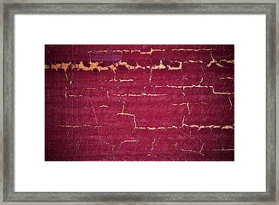 Abstract Bordo Background Framed Print by Jozef Jankola