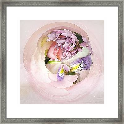 Abstract Bouquet Framed Print