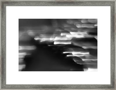 Abstract Framed Print by Brady D Hebert