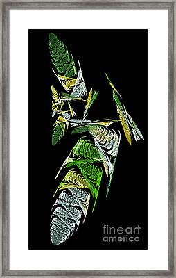 Abstract Bugs Vertical Framed Print by Andee Design