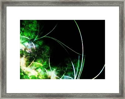 Abstract Framed Print by Cameron Rose