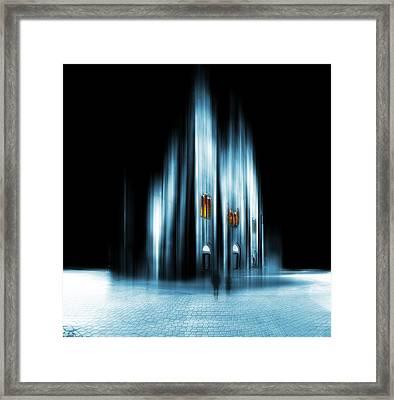 Abstract Cathedral Framed Print by Jaroslaw Grudzinski