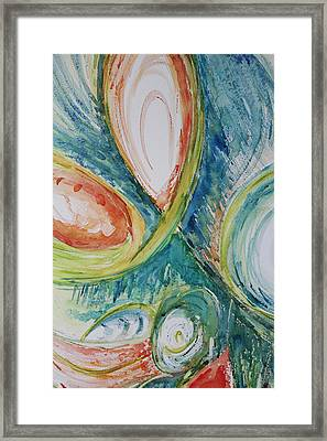 Abstract Chaos Framed Print