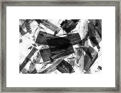 Abstract Chunky Framed Print