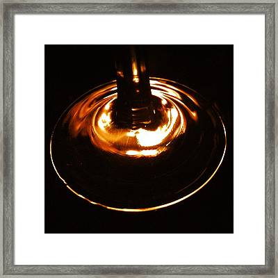 Abstract Circle Framed Print by Christy Beckwith
