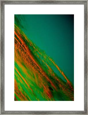 Abstract Clouds Framed Print